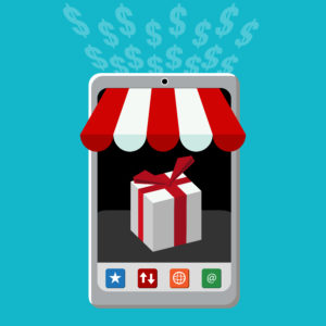 Mobile Commerce MCommerce Smartphone Handel Retail Laden Store