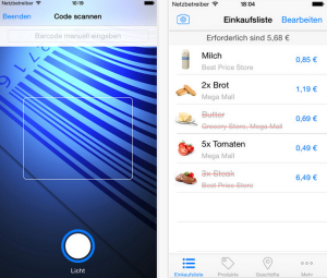 Shopinfo App beacon Apple Watch