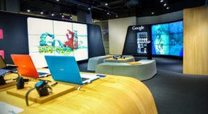 Google Store London Filiale Geschäft
