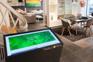 Die Multi-Touch-Lösung von Pablo & Paul bei BoConcept