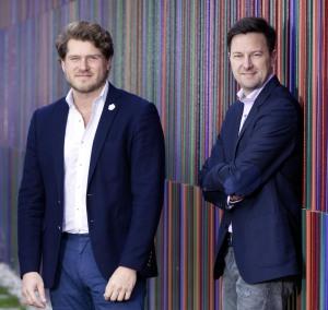 Die Pablo & Paul-Gründer Christoph Buchmann (links) und Philipp Bode (rechts)