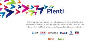 Plenti Amex Webseite