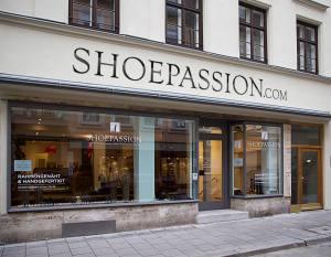 In München eröffnete Shoepassion.com Ende 2014 ein Ladengeschäft
