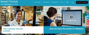 SmartFocus - virtuelle Beacons - Webseite
