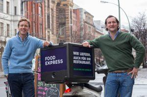 MyLorry-CEO Max von Waldenfels (links)
