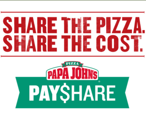 Papa John's PayShare