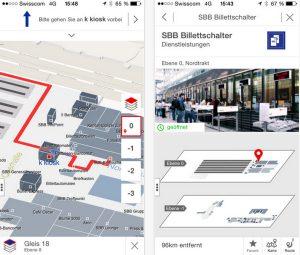 """""""Mein Bahnhof""""-App"""