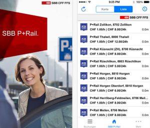 """""""SBB P+Rail""""-App"""