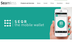 Seamless SEQR App Mobile Payment