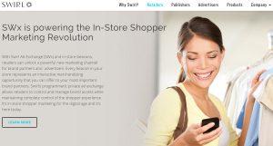 Swirl Beacon Webseite Smartphone
