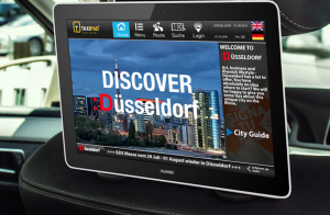 Taxipad Startup Ratingen Werbung Taxi Tablet LBS