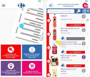 "Carrefours iOS-App ""Promo"""