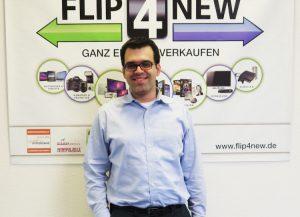 Michael Sauer ist Co-Geschäftsführer und Mitgründer von Flip4New