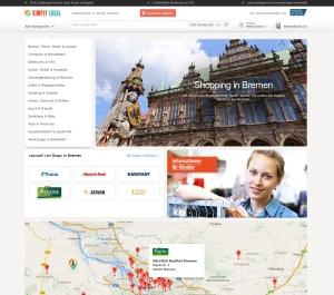 In Bremen und vier weiteren Regionen geht Simply-Local zuerst an den Start