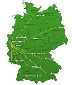 Mit zwölf Heimkinopartnern bietet Beamer-Discount.de ein deutschlandweites Netz an Vorführräumen