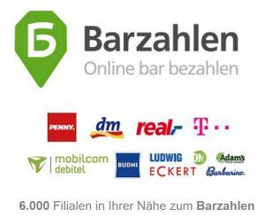Barzahlen Logo Webseite