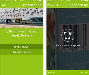 Coop Schweiz Passabene App Scandit