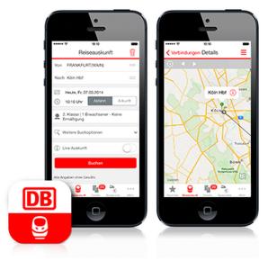 Deutsche Bahn App - App DB Navigator