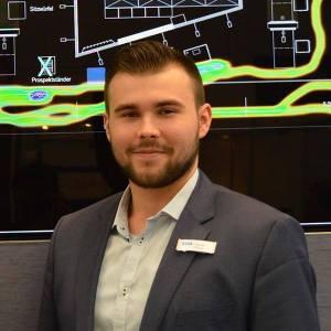 Gründer und Geschäftsführer von Store Analytics: Marcel Florian, 22 Jahre jung
