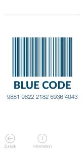 Blue Code App