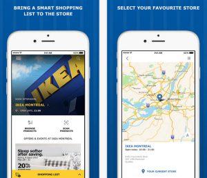 Ikea Kanada App