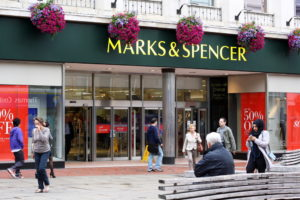 Marks & Spencer Filiale Store Laden M&S