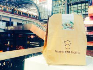 Home eat Home am Hauptbahnhof Berlin.