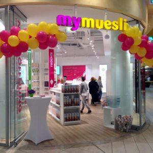 Der jüngste mymuesli-Shop eröffnete Anfang Juli in der Dortmunder Thier-Galerie