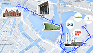 Amsterdam Beacon Mile Map