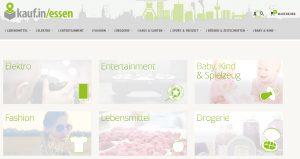 Kauf.in Essen Webseite