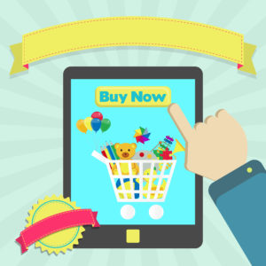 Mobile Shopping Schule