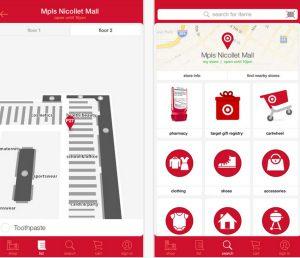 Target App iOS Map