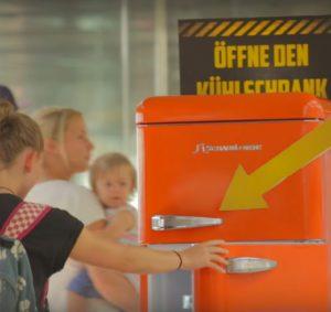 Edeka Flughafen Hamburg Kühlschrank Click Collect