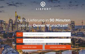 Liefery SDD Webseite