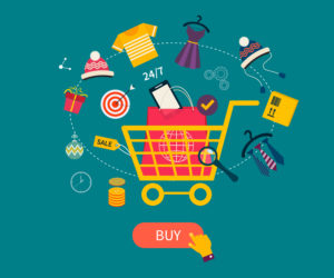 Onlineshop E-Commerce - shutterstock 227614861