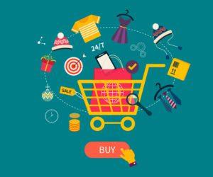 Onlineshop E-Commerce - shutterstock 227614861
