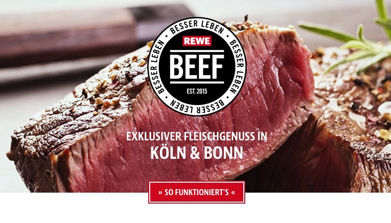 Rewe startet Click&Collect für Fleisch