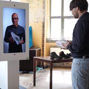 Sensape interaktive Außenwerbung Shopping-Assistent
