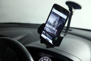 Uber Fahrdienst App Auto - shutterstock 271665851
