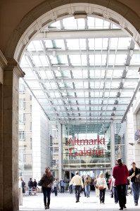 Zugang Altmarkt-Galerie Dresden AGD