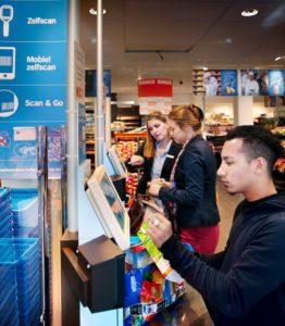 Albert Heijn - AH Selbst scannen Supermarkt
