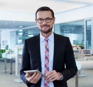 Hubert Kluske ist Geschäftsführer der Mobilcom-Debitel Shop GmbH