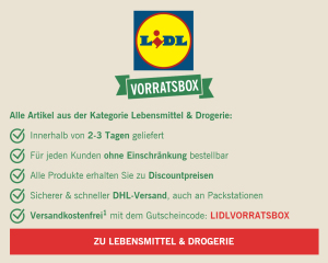 Lidl Vorratsbox Infos
