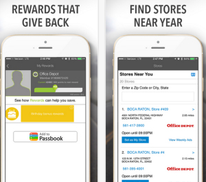 Office Depot App Screenshot