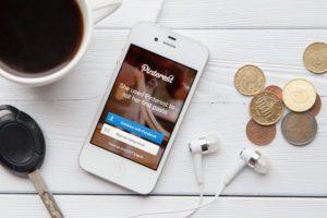 Pinterest App - shutterstock 212930581