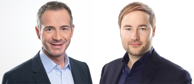 Stephan Musikant (links) und Christian Gaiser (rechts)