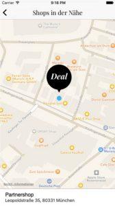 Burda App InStyle Shopping Deals Karte