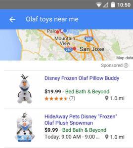 Google Shopping Mobile Neu