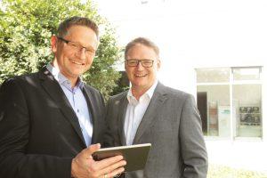 Locamo-Geschäftsführer Kai Uwe Kapler und Markus Kapler
