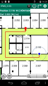 Die Fraunhofer-App ähnelt bekannten Karten-Lösungen.